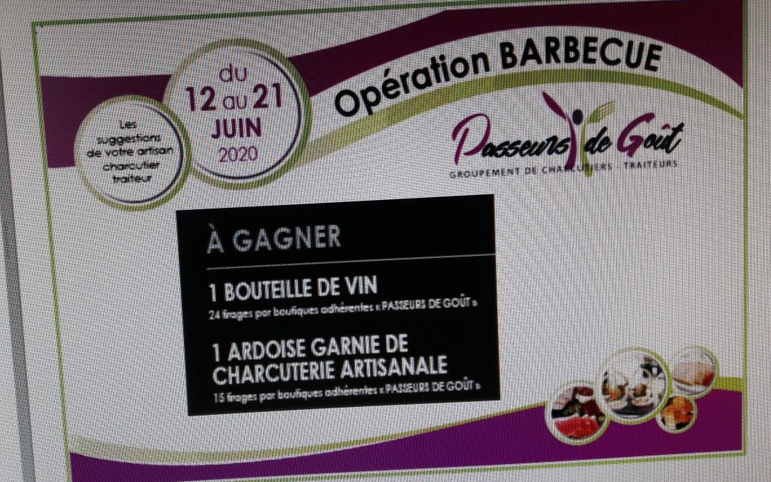 A gagner cette semaine…
