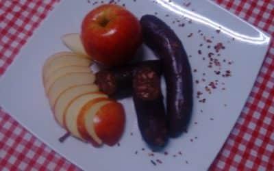 Le boudin noir et la pomme, une association parfaite …